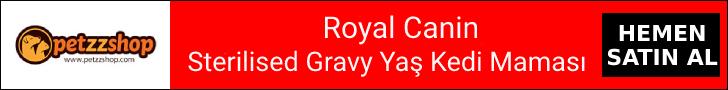 Sterilised Gravy Yaş Kedi Maması